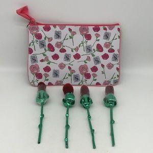 Storybook Rose Brush Set